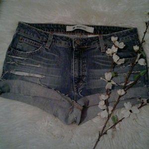 🔴Gap sz10 Distressed Cut Off Jean Shorts